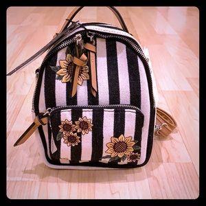 Violet Ray trinity sunflower mini backpack